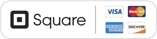 Payment provided by Square