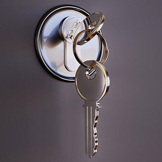 Spare front Door locksmith